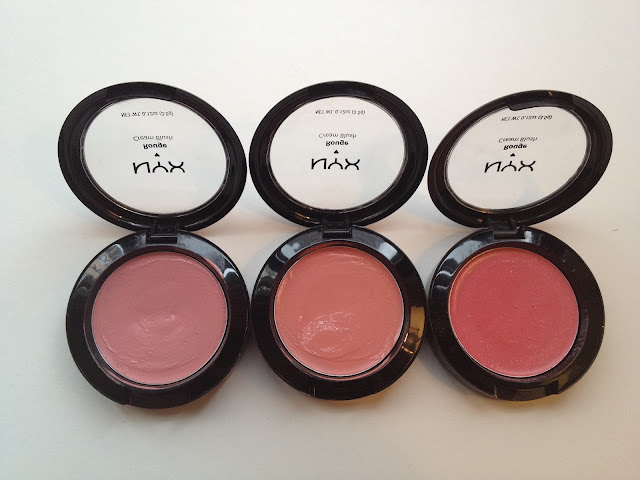 NYX Cream Blushes