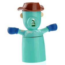 Cartoon Pirate Prince Style Eco friendly Automatic Toothpaste Dispenser with Toothbrush Holders and Tooth brushing Cup