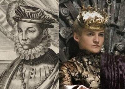 Henri II e Joffrey Baratheon