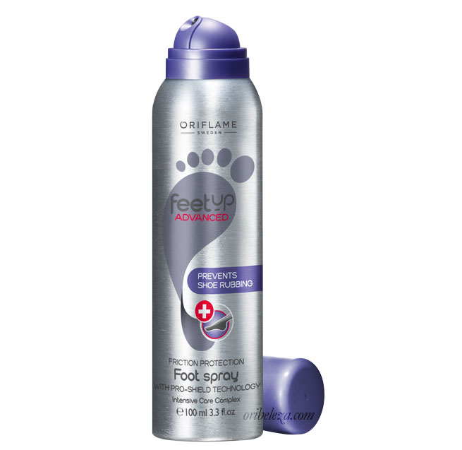 Spray de Proteção Antifricção para Pés Feet Up Advanced da Oriflame