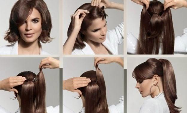 Las máscaras naturales para una alimentación de los cabello