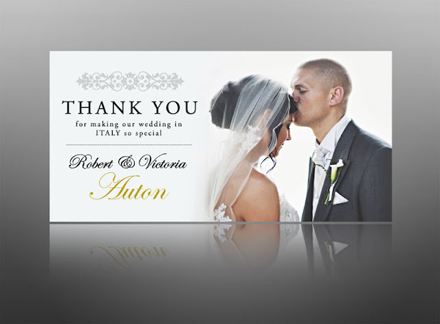 thank you cards, wedding, baby