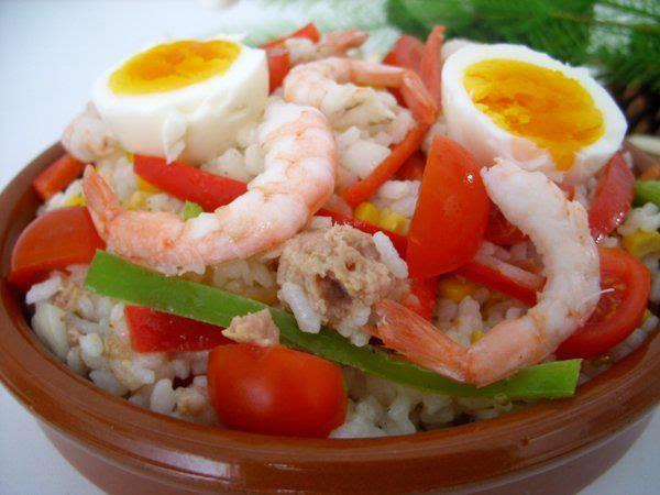Recette du Salade des crevettes