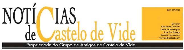 Notícias de Castelo de Vide