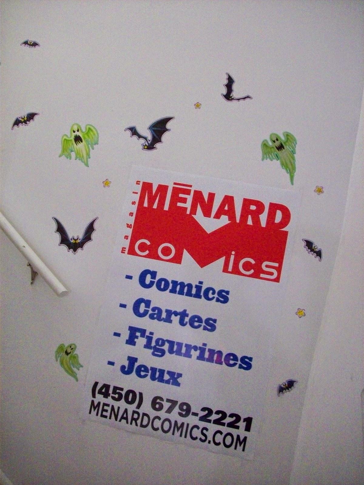 menard comics