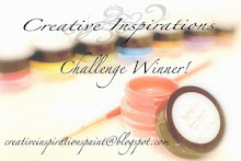 Creative Inspirations Winner!!