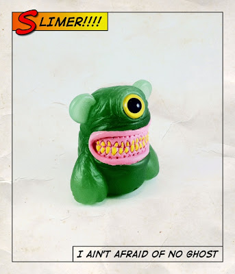 San Diego Comic-Con 2011 Exclusive Slimer Meathead Resin Figure by Motorbot