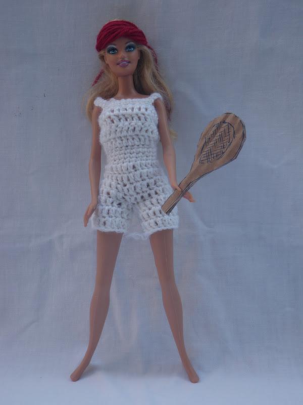 spesso Unconventional Mom: Vestito per la barbie all'uncinetto: completo  NA88