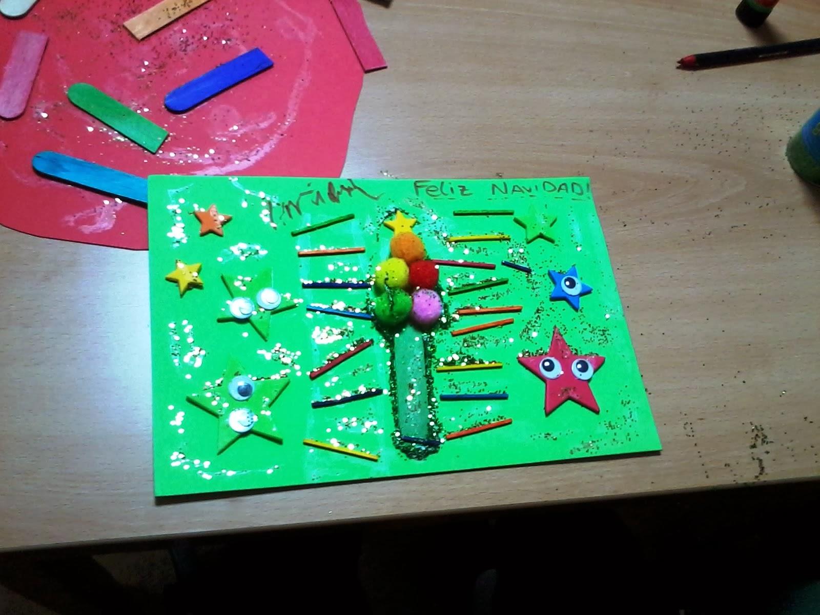 C a s en el plantio international school of valencia - Postales navidenas para hacer ...