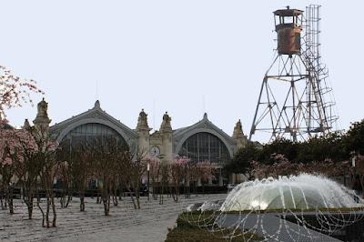 gare de Tours projet ilot Vinci : la tour Mirador