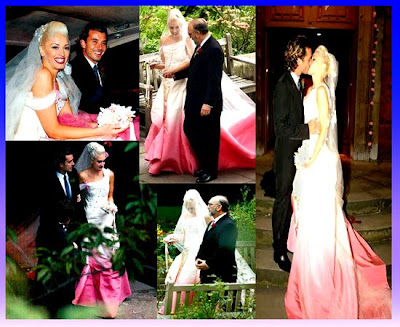 7 Most Iconic Wedding Gowns in The World: Gwen Stefani Wedding Gown