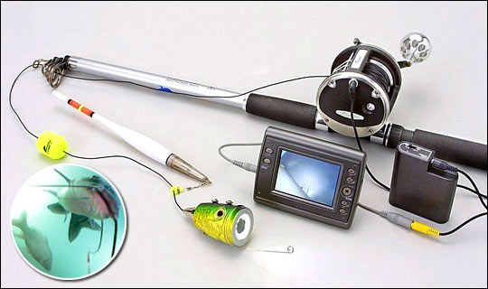 Как сделать видеокамеру для зимней рыбалки своими руками