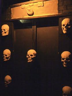 Haunted elevator!