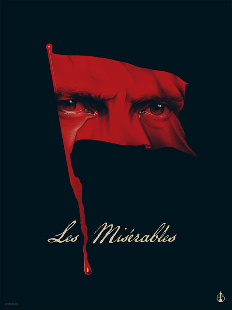 poster: Les Miserables - design de Phantom City Creative