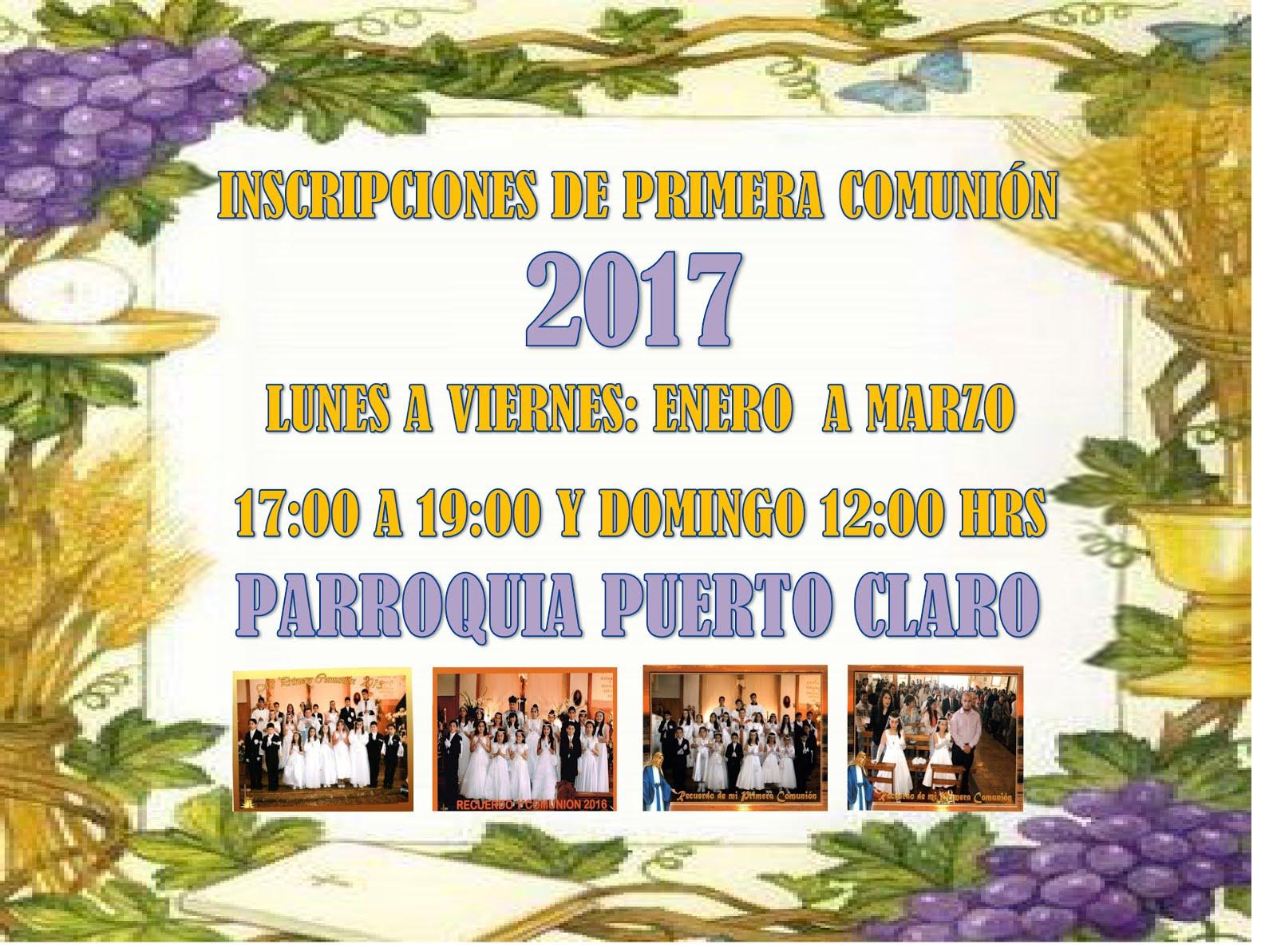 Our lady of mercy of clare port actividades parroquiales - Mes de enero 2017 ...