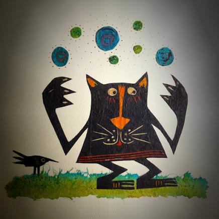 Gato malabarista