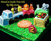 Safari Train Cake