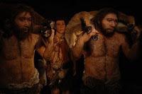 imagen de neandertales