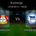 Pronostic Leverkusen - Hertha Berlin : Bundesliga