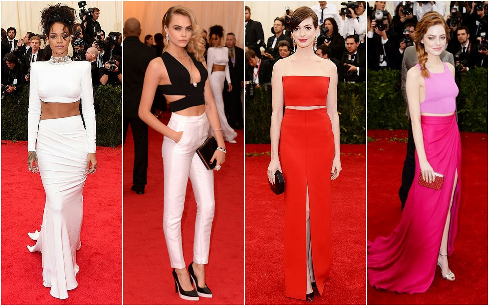 White Tie With Decorations Beautifully Fierce Met Gala 2014 White Tie And Decorations