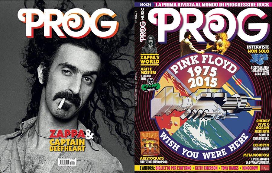 PROG ITALY - La prima rivista dedicata interamente al rock progressivo