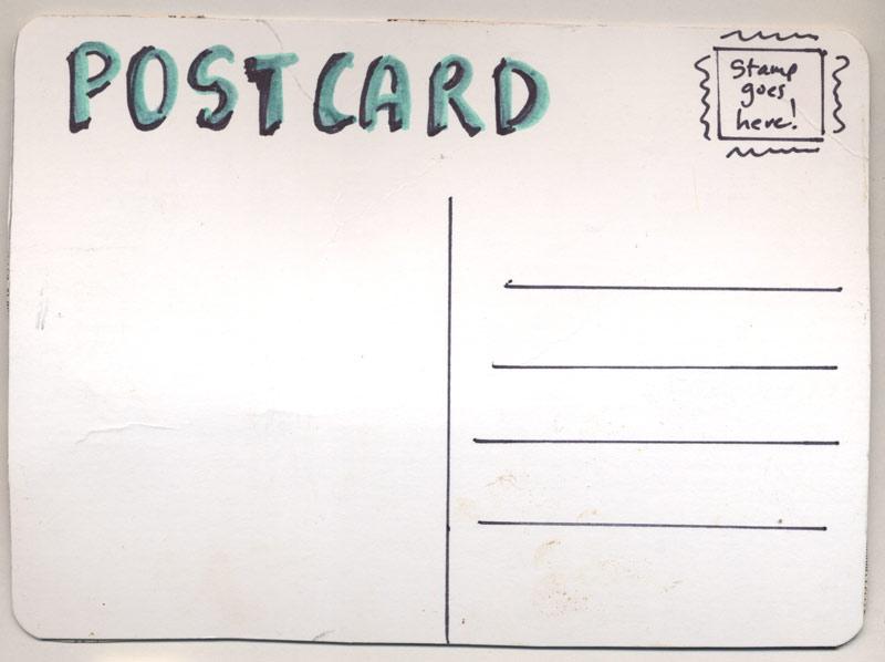Postcard sample idealstalist postcard sample altavistaventures Image collections