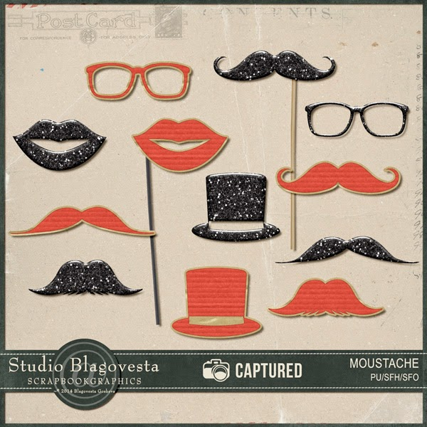 http://shop.scrapbookgraphics.com/Captured-Moustaches.html