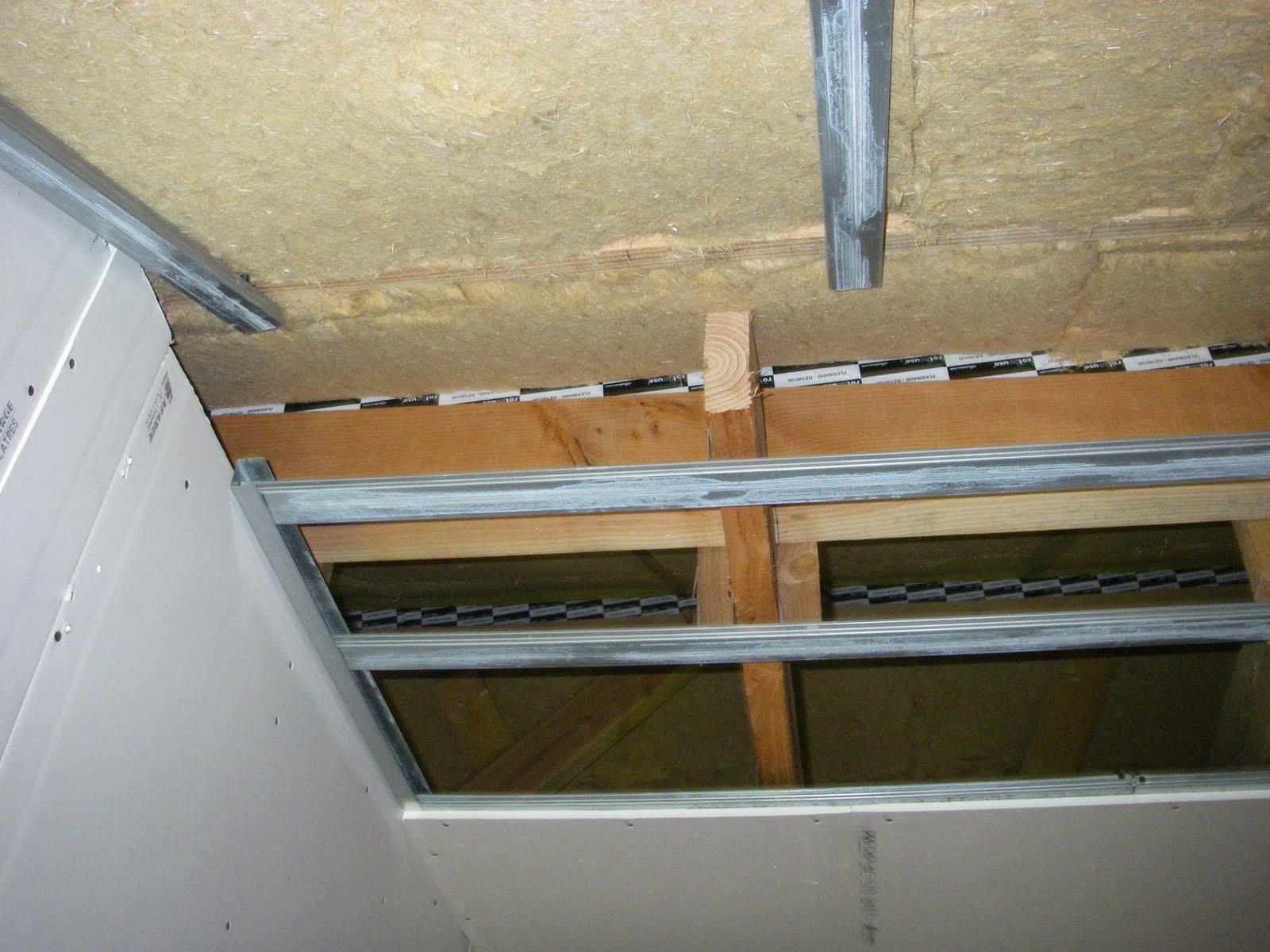 ossature plafond placo elegant with ossature plafond. Black Bedroom Furniture Sets. Home Design Ideas