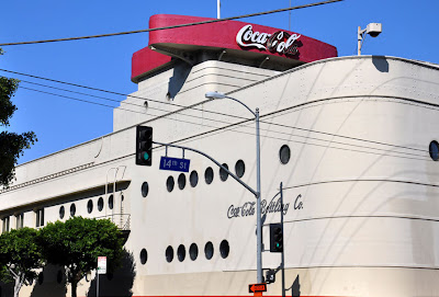 vintage Coca-Cola Building by Lady by Choice