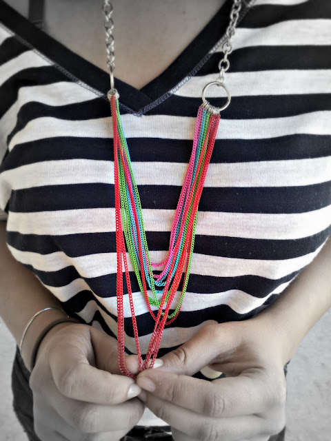 rue 21 multicolored necklace