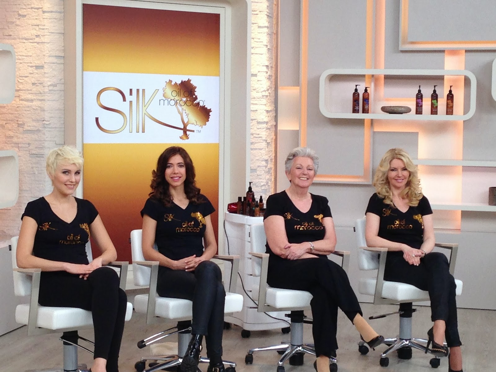 Silk Oil of Morocco: QVC Germany. Silk's VOLUMIZING MOUSSE ...