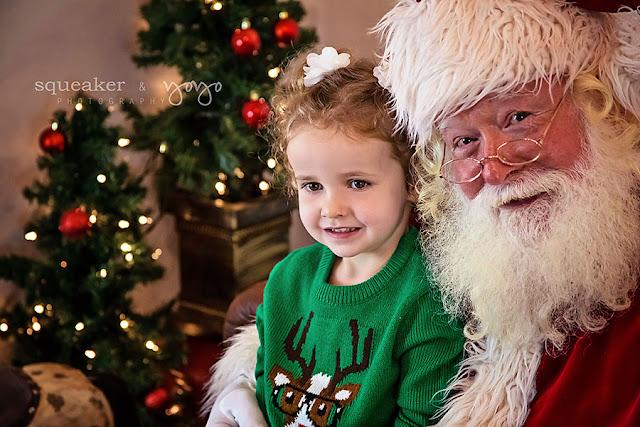 Santa Experience Portraits georgetown