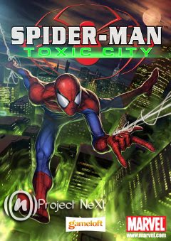 Spiderman Toxic City S60v5 Cell Phone Game