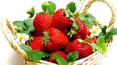 Strawberry Untuk Menurunkan Kolesterol Secara Alami