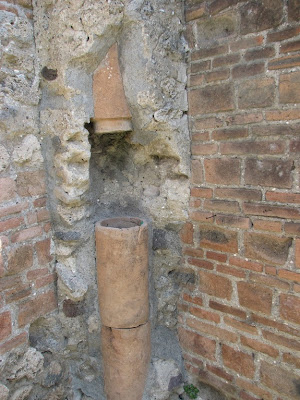 Pompeian houses also had an upstairs latrine