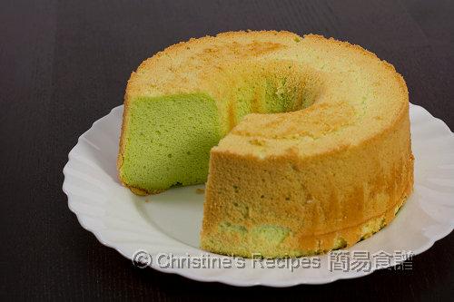 班蘭戚風蛋糕 Pandan Chiffon Cake02