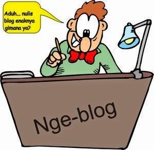 Cara ngeblog
