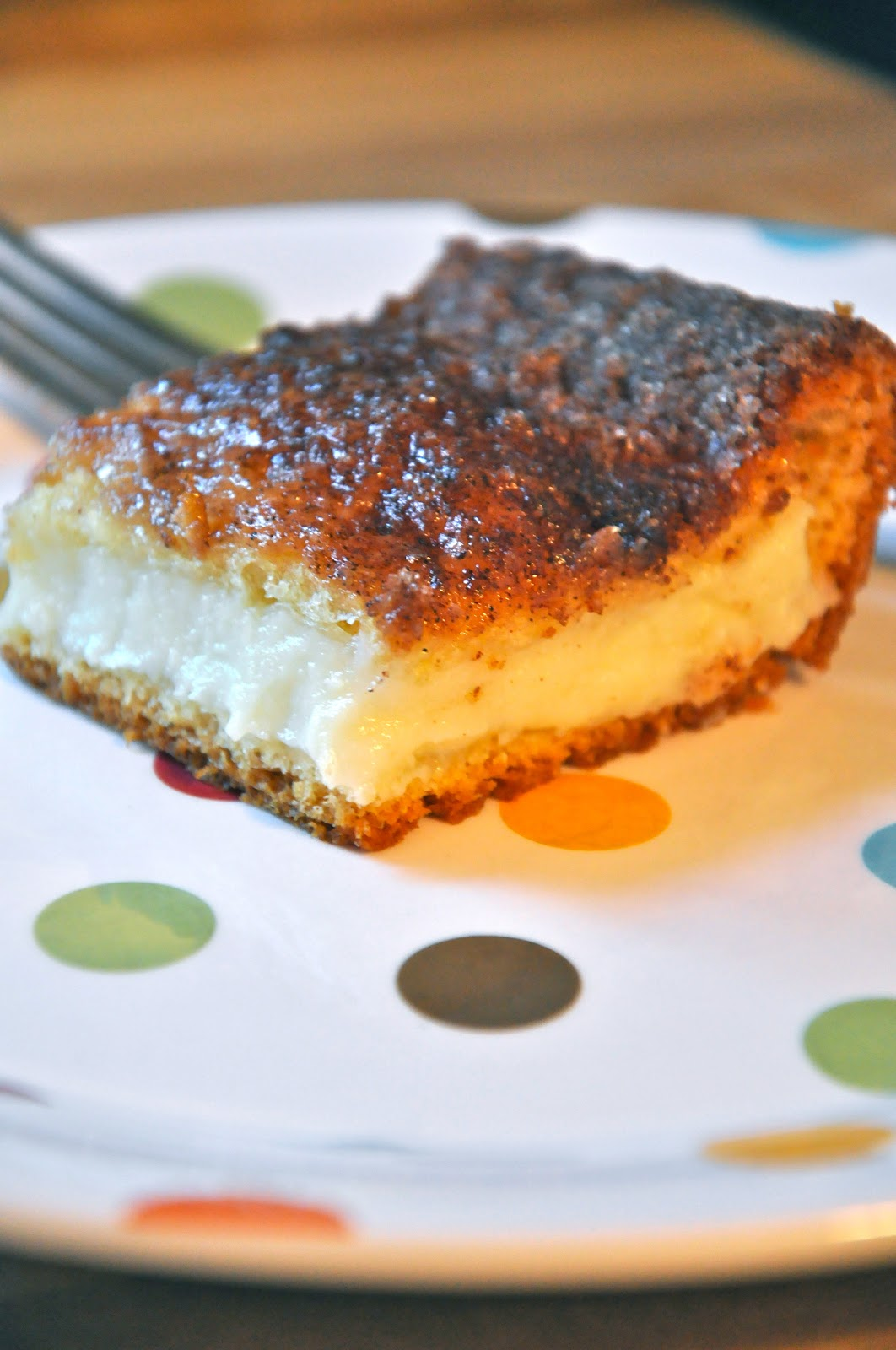 Little Bit Funky: what i made for monday-cream cheese squares.