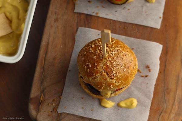 Se questo è un uovo - Mini hamburger vegetariani