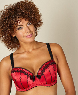 Red Spotted Bra by Gorgeous from Debenhams