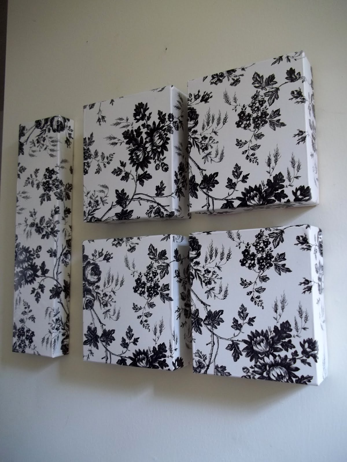 Ahhh mom dollar tree contact paper and used boxes wall art for Craft paper dollar tree