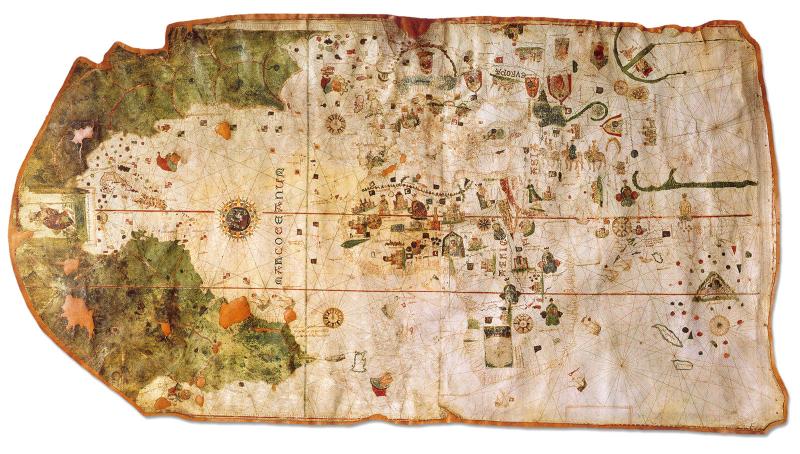 Resultado de imagen para Mapa de Piri Reis
