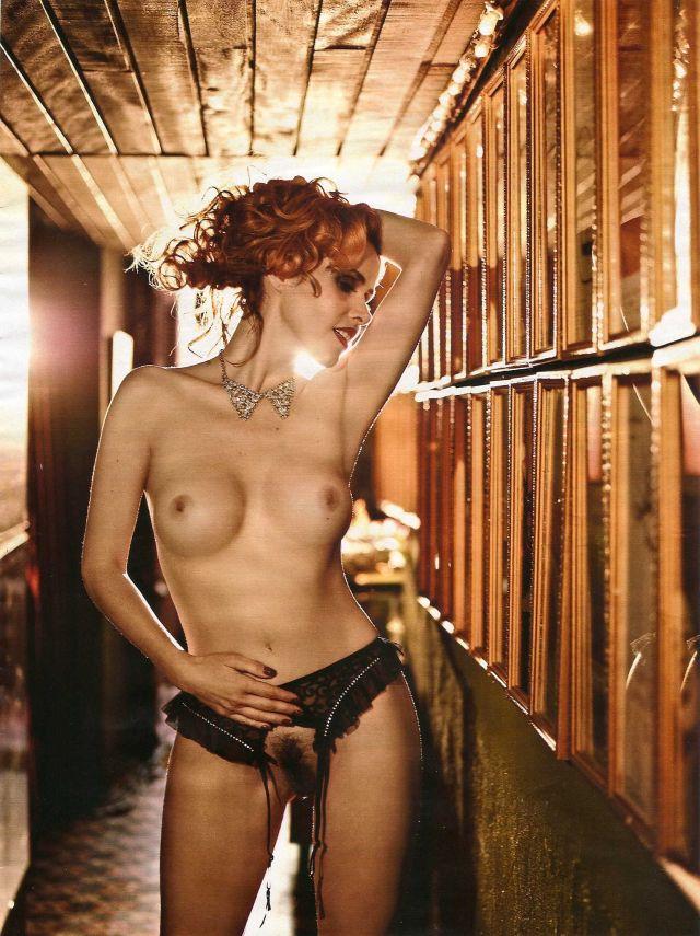 "Leona Cavalli na Playboy Brasil - Zarolha da ""Gabriela"" nua e pelada"