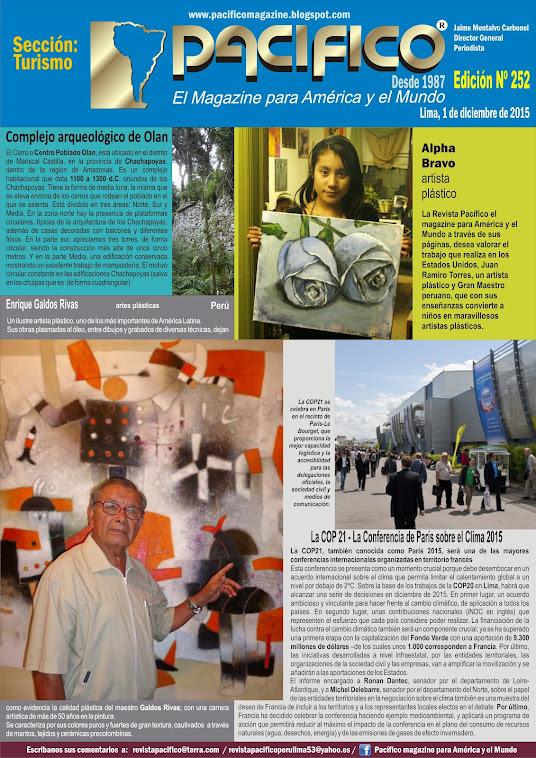 Revista Pacífico Nº 252 Turismo