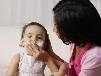 Cách trị sổ mũi cho bé