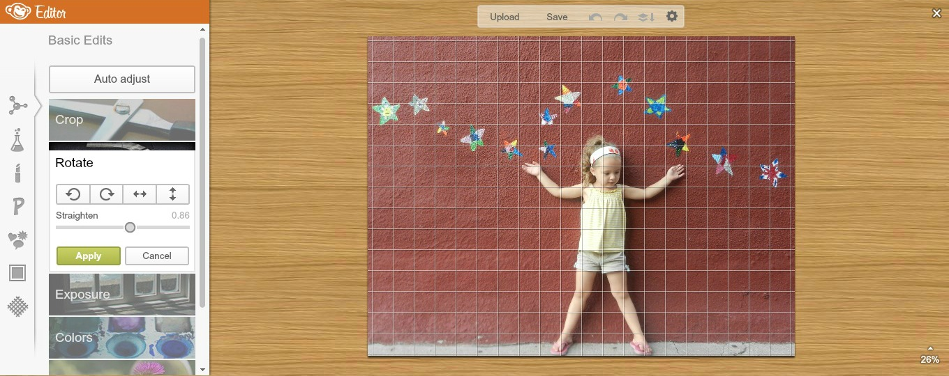picmonkey free photo editing for beginners rotate image