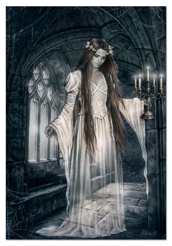 Mujer Fantasma del Castillo