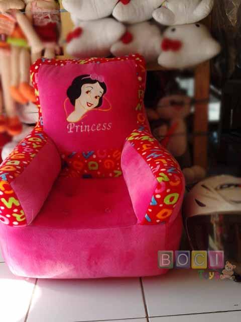 Sofa Boneka Bentuk Kotak List Ceria