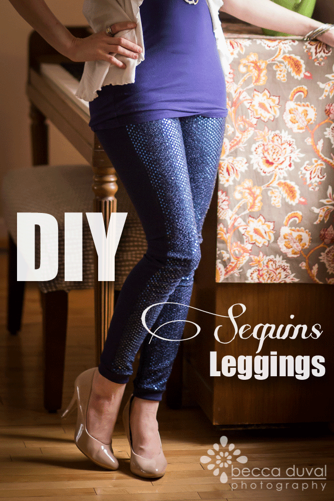 the Jocole blog: {Tutorial} Sequins Leggings!