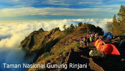 Wisata Taman Nasional Gunung Rinjani
